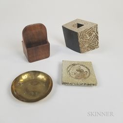 Group of Modern Design Items