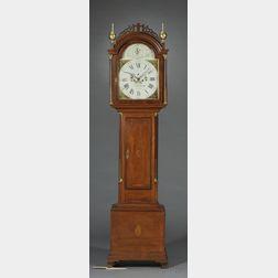 Simon Willard Mahogany Tall Clock