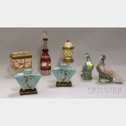 Six Assorted Decorative Table Items