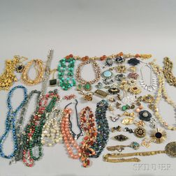 Group of Assorted Costume Jewelry