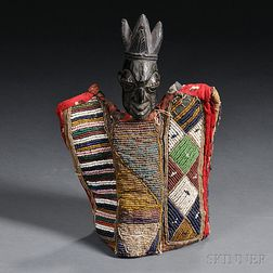 African Carved Wood Ibeji Doll