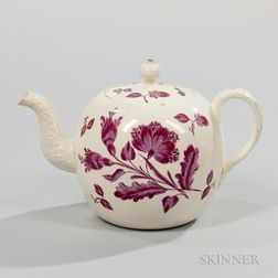 Staffordshire Creamware and Teapot