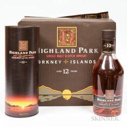 Highland Park 12 Years Old, 6 750ml bottles (oc)