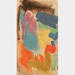 Friedel Dzubas (German/American, 1915-1994)      Untitled