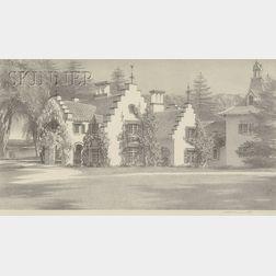 Stow Wengenroth (American, 1906-1978)      Sunnyside - Tarrytown, New York