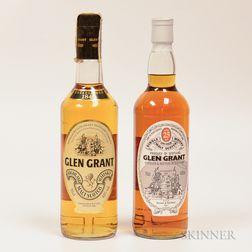 Mixed Glen Grant, 1 70cl bottle 1 750ml bottle