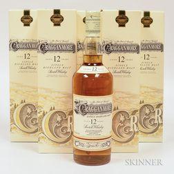 Cragganmore 12 Years Old, 5 750ml bottles (ot)