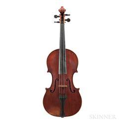 Italian Violin and Bow, Eugenio Praga, Genoa, 1892