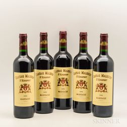 Chateau Malescot St. Exupery 2009, 5 bottles