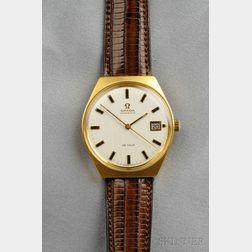 """18kt Gold """"De Ville"""" Wristwatch, Omega"""