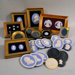 Thirty-five Wedgwood Medallions