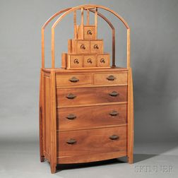 Geoffrey Warner Studio Furniture Chest of Drawers
