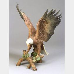 """Goebel Porcelain Eden Gallery Series """"Bald Eagle,"""""""