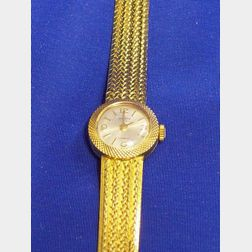18kt Invicta Gold Wristwatch.