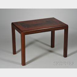 Danish Modern Rosewood Veneer Table