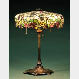John Morgan and Sons and Reed and Barton Table Lamp
