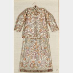 Straits Chinese Wedding Jacket and Skirt
