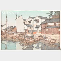 Hiroshi Yoshida (1876-1950) Woodblock Print