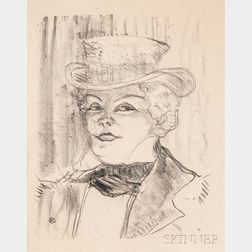 Henri de Toulouse-Lautrec (French, 1864-1901)      Madame Réjane