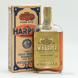 IW Harper Pure Rye 1917, 1 pint bottle (oc)