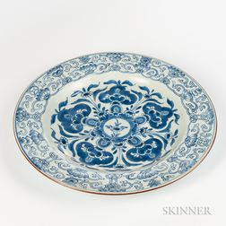 Export Blue and White Dish