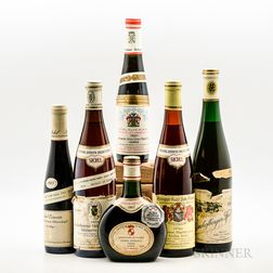 Mixed German Wines, 3 bottles 3 demi bottles