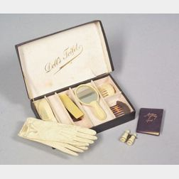 Boxed Doll's Toiletry Set and Fashion Doll Accessories