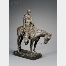 Harry Andrew Jackson  (American, b. 1924)      Cowboy's Meditation