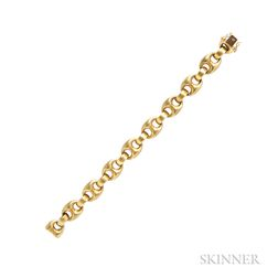 18kt Gold Anchor Link Bracelet