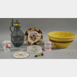 Eight Assorted Decorative and Collectible Articles