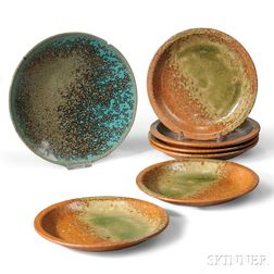 Seven Pieces of Studio Pottery