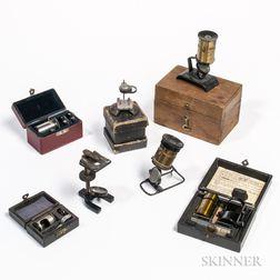 Seven Microscopes