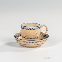 Wedgwood Caneware Cup and Saucer