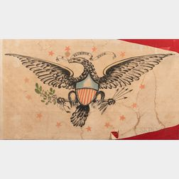 Large Spreadwing Eagle Banner