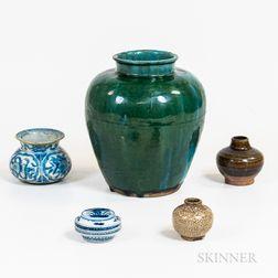 Five Ceramic Items