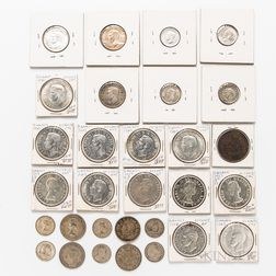 Small Group of Canadian Coins