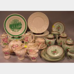 Four Partial Sets of English Ceramic Tableware