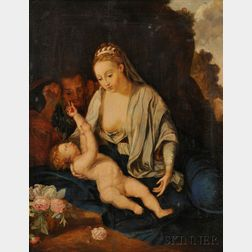 Flemish School, 18th Century      The Holy Family