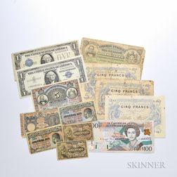 Thirteen Bank Notes