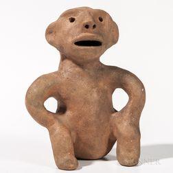 Cochiti Pottery Figure