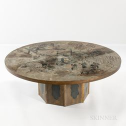 "Philip and Kelvin LaVerne ""Chan"" Coffee Table"