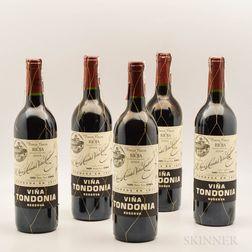 R. Lopez de Heredia Vina Tondonia Reserva 2004, 5 bottles