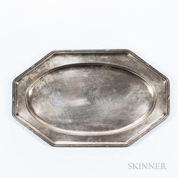 Austrian .800 Silver Tray