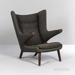 "Hans J. Wegner (1914-2007) for AP Stolen ""Model AP 19"" ""Papa Bear"" Lounge Chair"