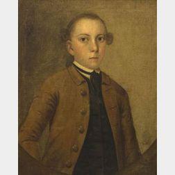 Attributed to Joseph Badger (Boston and Charleston, South Carolina, 1708-1765)  Portrait of Joseph Goldthwaite (1730-1779)