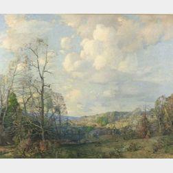 William Jurian Kaula (American, 1871-1953)  Afternoon in Mason