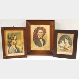 Three Framed Nathaniel Currier Engravings