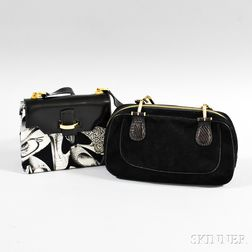 Two Salvatore Ferragamo Handbags