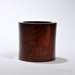 Wood Brush Pot, Bitong