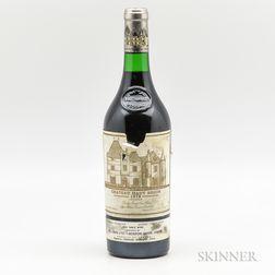 Chateau Haut Brion 1979, 1 bottle